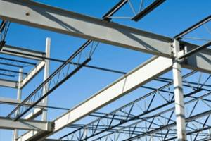 Production of metal structures for residential